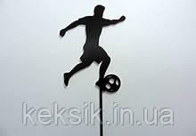 Топпер деревянный Футболист