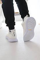 Кроссовки Adidas Alphabounce Instinct White Адидас Альфабаунс Инстинкт Белые (41,42,43,44,45), фото 3