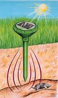 Отпугиватель грызунов, кротов на солнечной батарее Solar Rodent Repeller