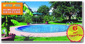 Сборный-разборный бассейн круглый диам. 3,50м