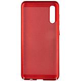 Ультратонкий дышащий чехол Grid case для Samsung Galaxy A70 (A705F), фото 2