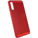 Ультратонкий дышащий чехол Grid case для Samsung Galaxy A70 (A705F), фото 4