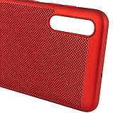 Ультратонкий дышащий чехол Grid case для Samsung Galaxy A70 (A705F), фото 5