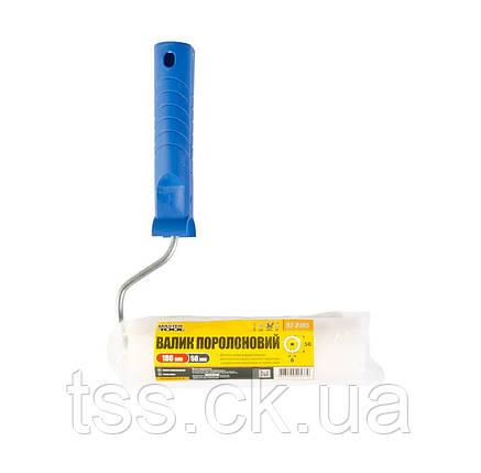 Валик поролоновый 180*50 d 6 мм с ручкой MASTERTOOL 92-8195-Р, фото 2