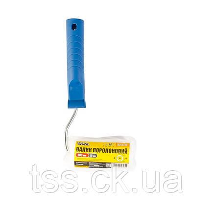 Валик поролоновый 100*50 d 6 мм с ручкой MASTERTOOL 92-8115-Р, фото 2