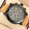 Стильные наручные часы Curren Chronometr 8190 Black\Black 1008-0011