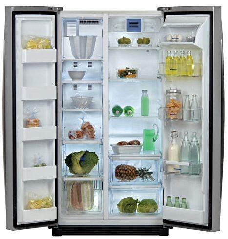 Введите холодильник бок о бок