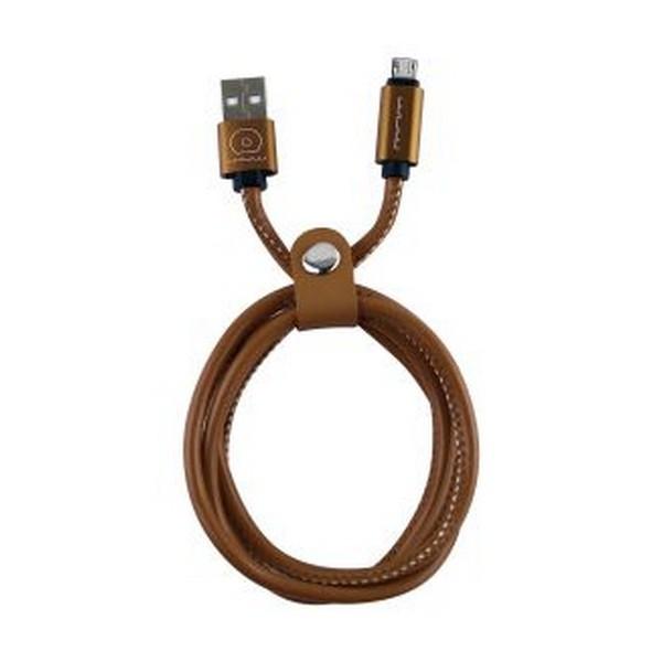 Кабель USB (тато) = microUSB (тато) 2 м WUW X01 cooper