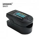 Пульсоксиметр GrowWin Pulse Oximeter LK88 OLED экран + батарейки в комплекте!, фото 2