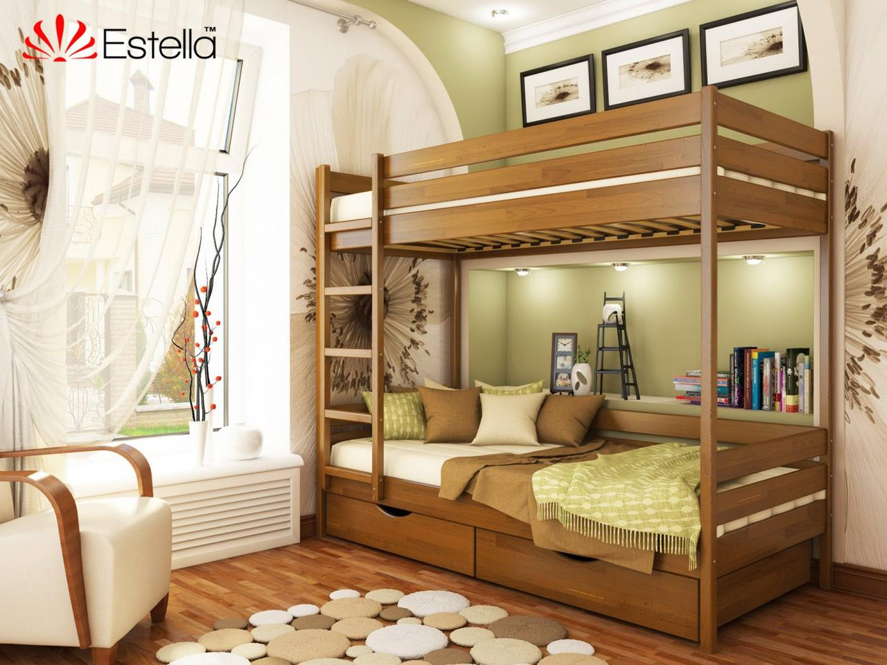 Двоярусне ліжко Дует 90х200 103 Щит 2Л4