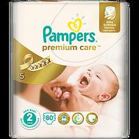 Подгузники Pampers Premium Care Mini 2 (3-6 кг) Джамбо 80шт