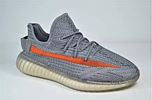 Мужские модные кроссовки серые в стиле Yeezy 5552 - 4