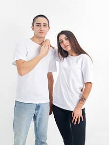 Універсальна футболка вільного крою (білого кольору)