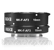 Макрокільця автофокусные для фотокамер Panasonic і Olympus (байонет Micro 4/3) Meike MK-P-AF3A