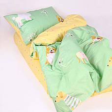 Постельное белье в детскую кроватку Viluta. Сатин 460, фото 3