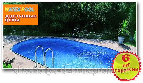 Сборный бассейн овальный 5,25 х 3,20 х1,50 м