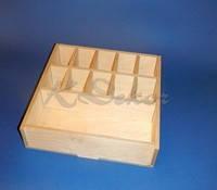 Короб с ячейками заготовка для декупажа