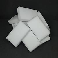 Меламінова губка MelaminSponge для чищення та прибирання 10х6х2 см набір 10 штук