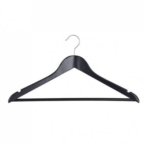 Вешалка для одежды Мій Дім EVERYDAY 44.5 х 1.2 см черная, фото 2