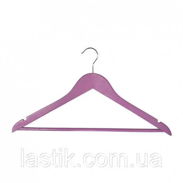 Вішалка для одягу Мій Дім EVERYDAY 44.5 х 1.2 см рожева