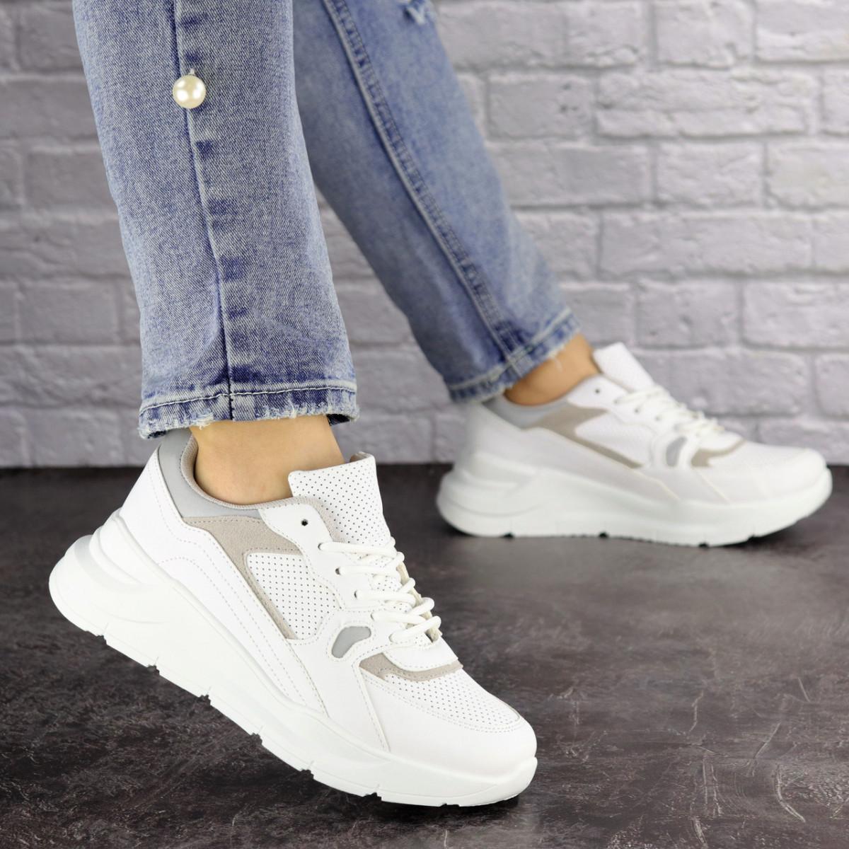 Жіночі кросівки Fashion Gambino 1518 37 розмір 24 см Білий
