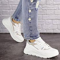 Жіночі кросівки Fashion Gambino 1518 37 розмір 24 см Білий, фото 2