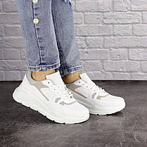 Жіночі кросівки Fashion Gambino 1518 37 розмір 24 см Білий, фото 3
