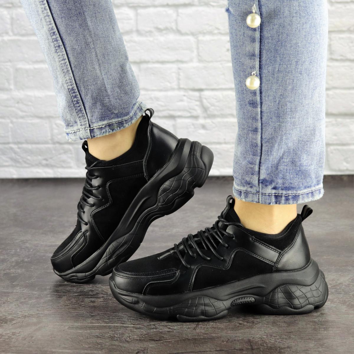 Жіночі кросівки Fashion Isabella 1501 36 розмір 23 см Чорний