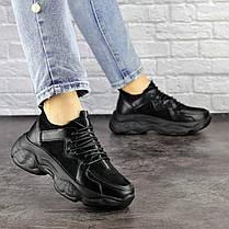Жіночі кросівки Fashion Isabella 1501 36 розмір 23 см Чорний, фото 3