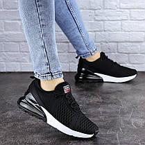 Жіночі кросівки Fashion Jedi 1884 36 розмір 23 см Чорний, фото 3