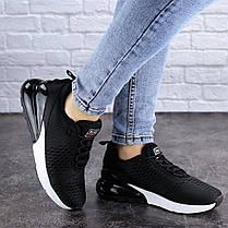 Жіночі кросівки Fashion Jedi 1884 36 розмір 23 см Чорний, фото 2