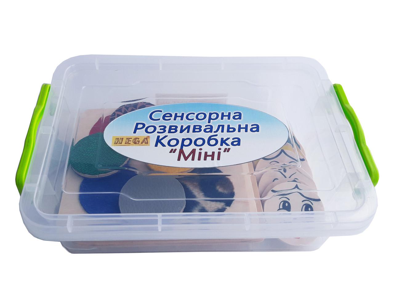 Сенсорна розвивальна коробка Міні Hega (249)