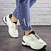 Женские кроссовки Fashion Kuma 1665 36 размер 23 см Белый, фото 5