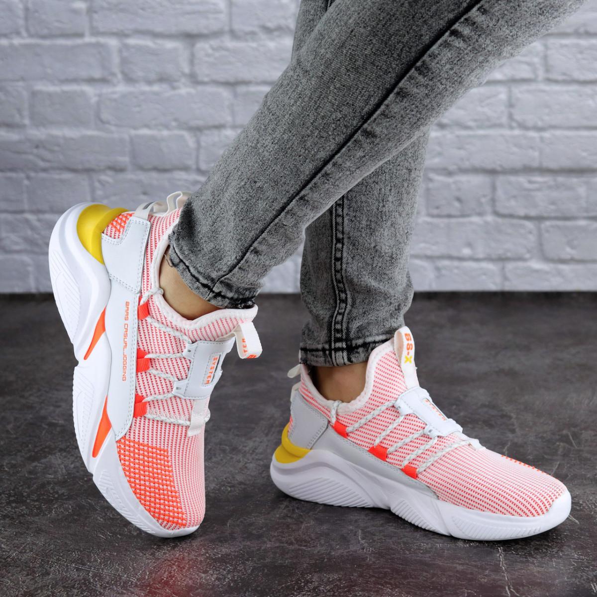 Жіночі кросівки Fashion Louie 1880 36 розмір 23 см Рожевий