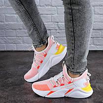 Жіночі кросівки Fashion Louie 1880 36 розмір 23 см Рожевий, фото 2