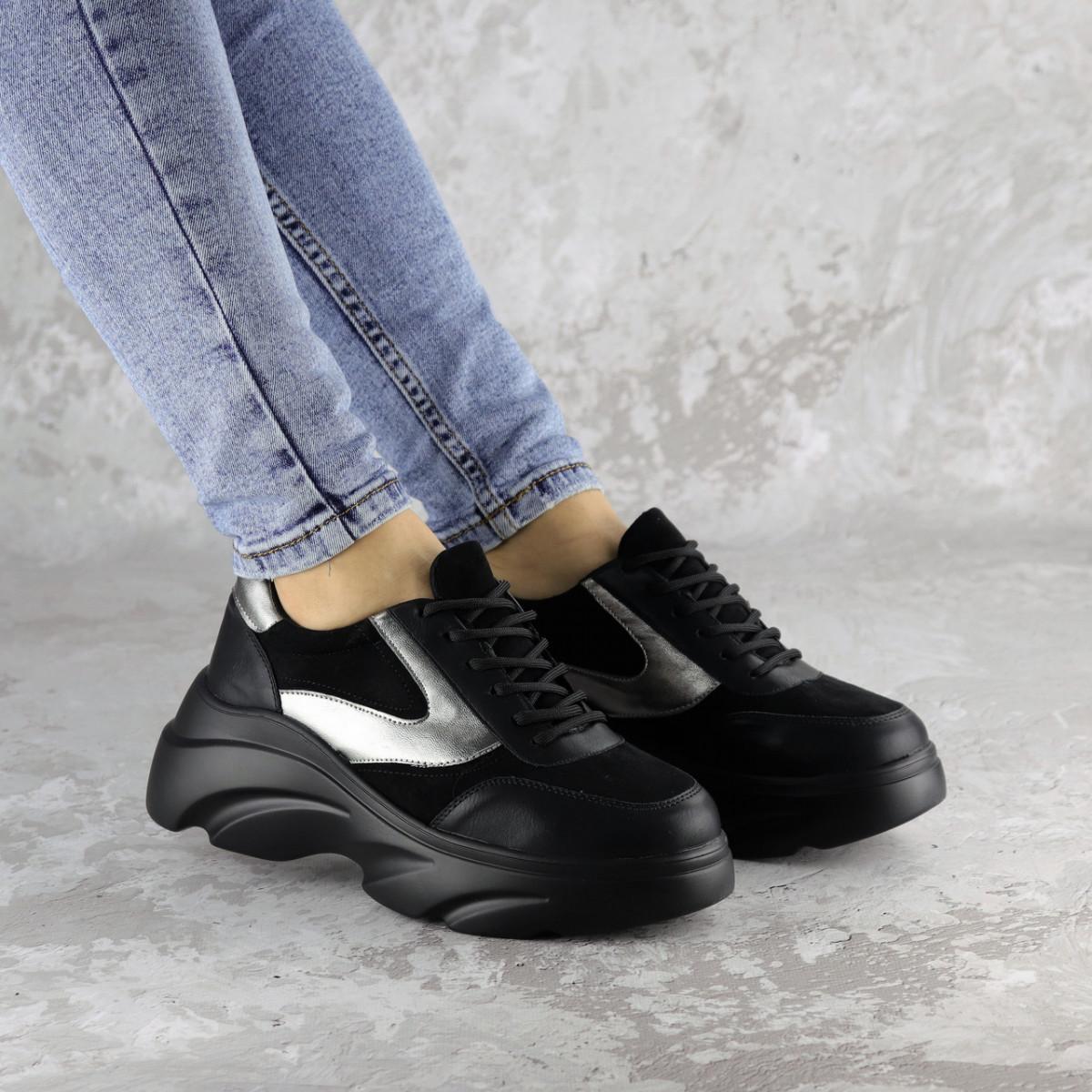 Жіночі кросівки Fashion Mandy 1342 36 розмір 23 см Чорний
