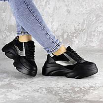 Жіночі кросівки Fashion Mandy 1342 36 розмір 23 см Чорний, фото 2