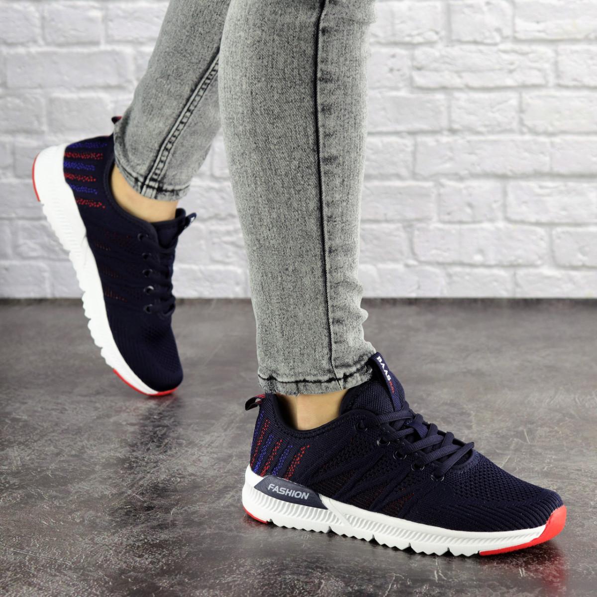 Женские кроссовки Fashion Mayook 1696 38 размер 24 см Синий