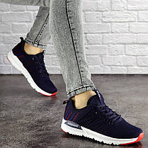Женские кроссовки Fashion Mayook 1696 38 размер 24 см Синий, фото 3