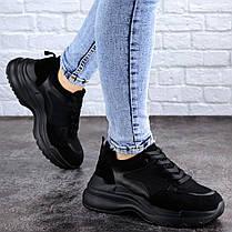Женские кроссовки Fashion Mishu 2041 37 размер 23,5 см Черный, фото 2