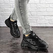 Жіночі кросівки Fashion Mystic 1695 37 розмір 22,5 см Чорний, фото 2