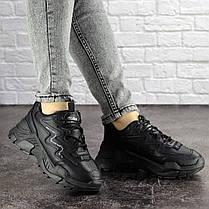 Жіночі кросівки Fashion Mystic 1695 37 розмір 22,5 см Чорний, фото 3