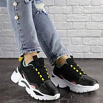 Жіночі кросівки Fashion Nando 1393 37 розмір 23,5 см Чорний, фото 3