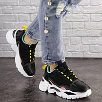 Жіночі кросівки Fashion Nando 1393 37 розмір 23,5 см Чорний, фото 2