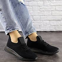 Женские кроссовки Fashion Naya 1484 39 размер 25 см Черный, фото 2