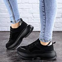 Женские кроссовки Fashion Negrita 2056 36 размер 23 см Черный, фото 2