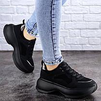 Женские кроссовки Fashion Negrita 2056 38 размер 24 см Черный, фото 3