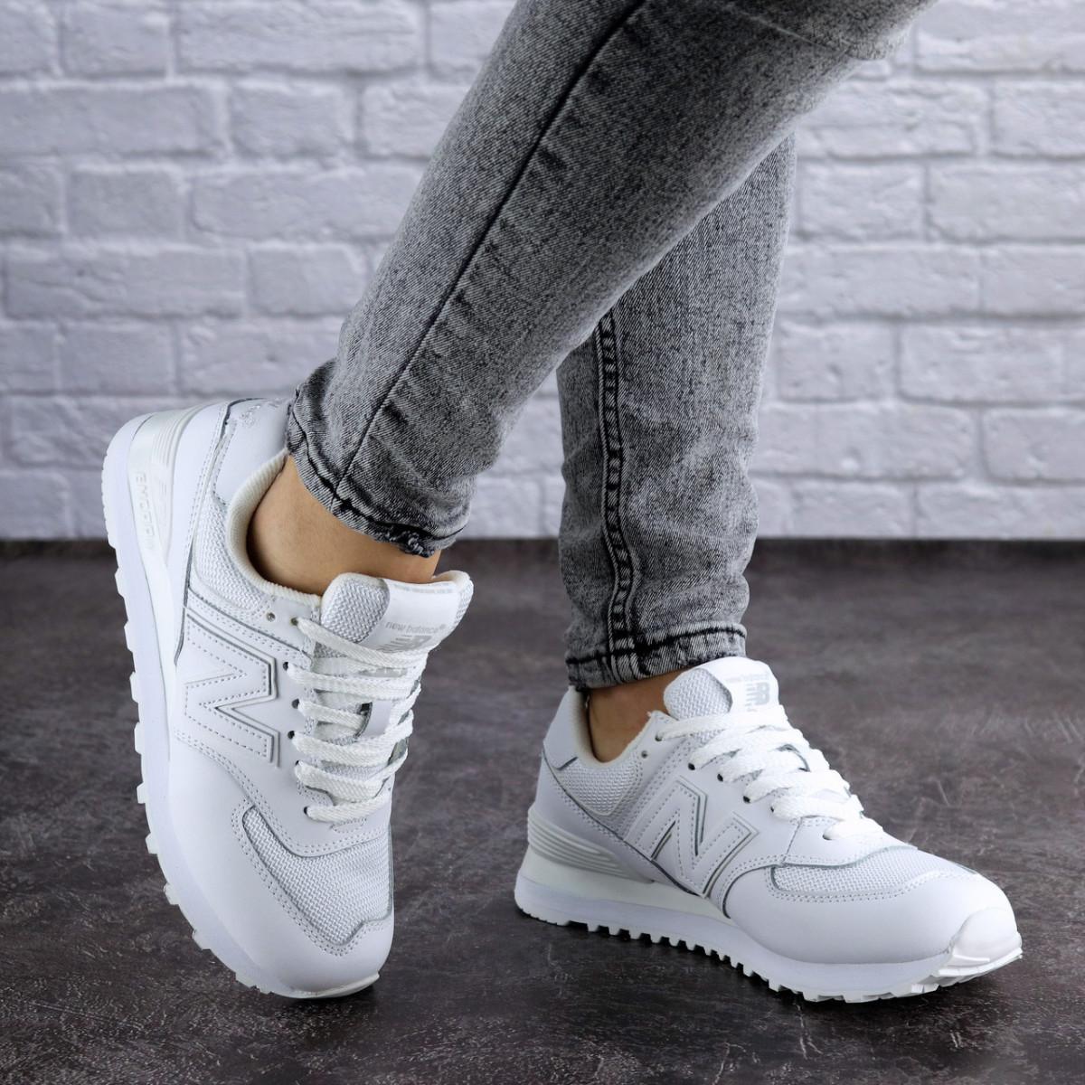 Женские кроссовки Fashion Nix 1991 38 размер 24 см Белый