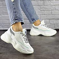 Женские кроссовки Fashion Noiraud 1496 37 размер 24 см Белый, фото 2