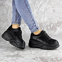 Жіночі кросівки Fashion Paige 1372 36 розмір 23 см Чорний, фото 2